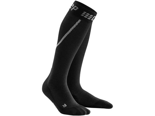 cep Winter Run Socks Men grey/black